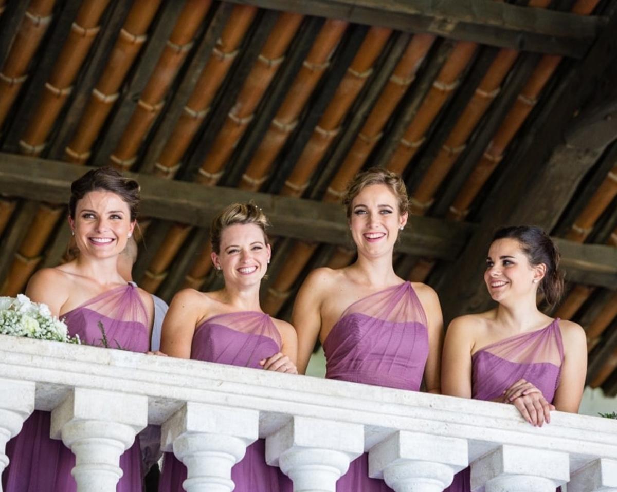 damigelle, villa con loggia, matrimoni location Vicenza